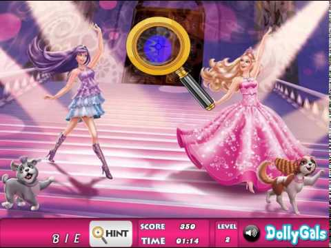 Barbie the Princess and the Popstar online game