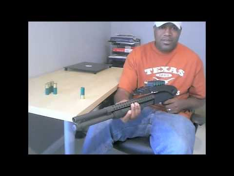 My Mossberg 500 12 Gauge Shotgun with Top Folding Stock and Pistol Grip