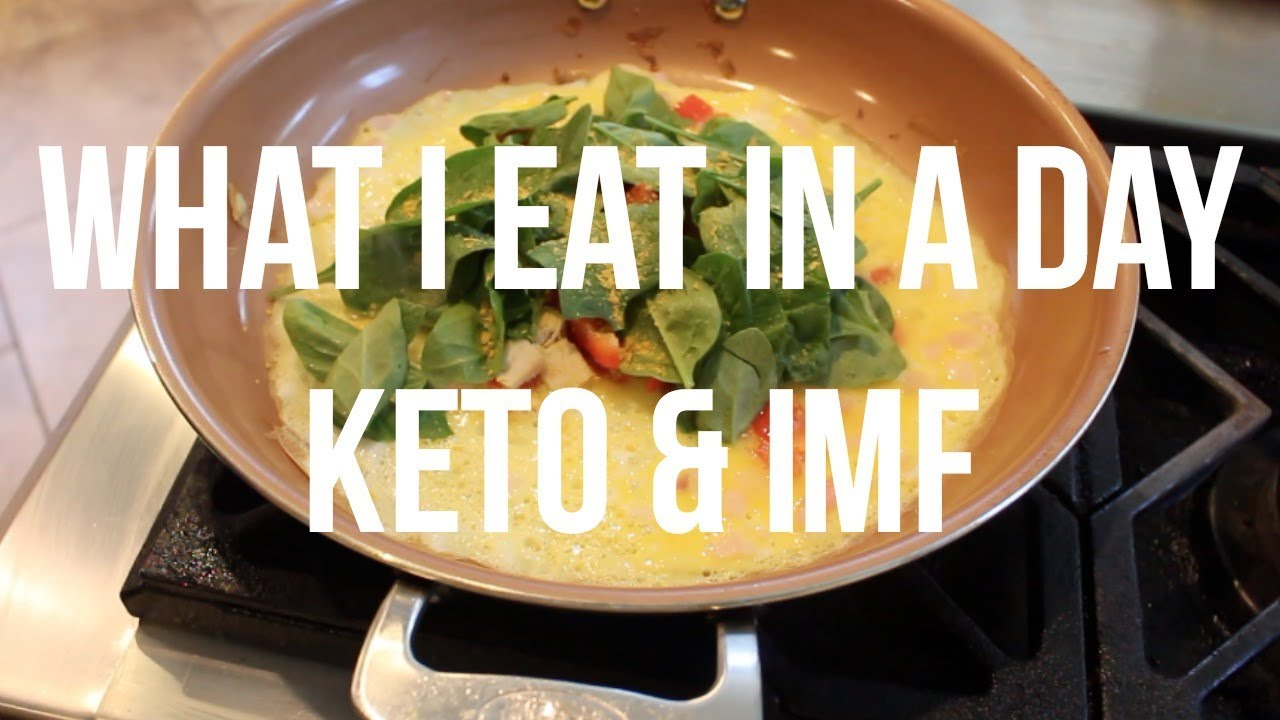 What I Eat In A Day Keto And Intermittent Fasting Youtube