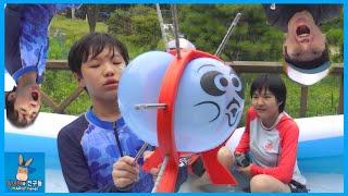 초긴장 100% 폭발풍선 게임 챌린지 해보았다 ♡ 대형 풍선 물폭탄 벌칙 누구? Boom Boom Balloon Challenge | 말이야와친구들 MariAndFriends