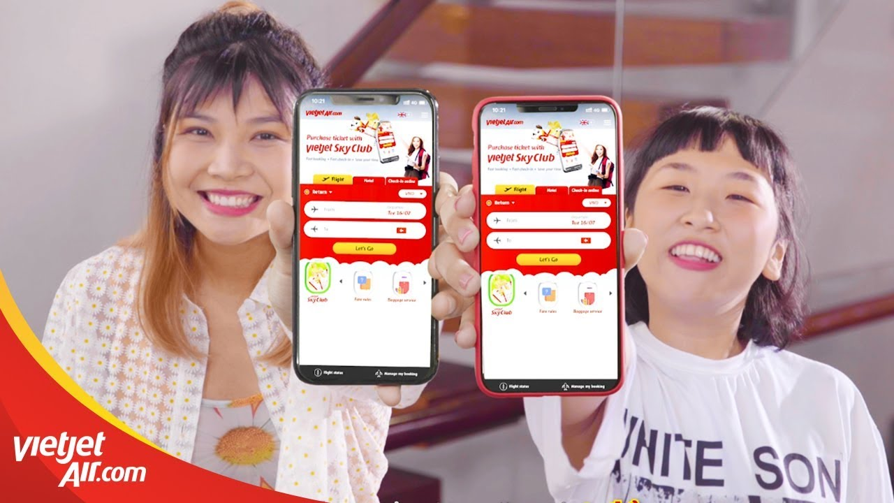 Khám Phá 4 Kiểu Thánh Du Lịch Cùng Trang Hý Và Cạ Cứng | App Vietjet Air