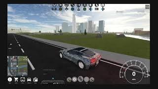Drifting the Chevrolet Corvette stingray on dirt. Roblox drifting video