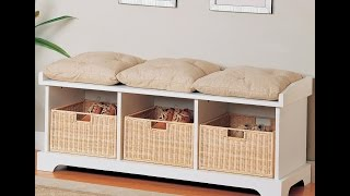 Bedroom Storage Bench