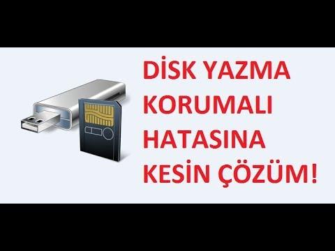 SD Kart ve Usb Disk Yazma Korumalı Hatası Nasıl Kaldırılır? Kesin Çözüm