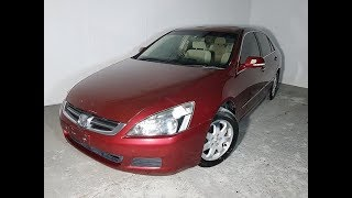 Automatic Luxury Sedan Honda Accord 2004 Review For Sale