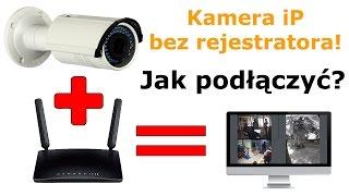 Kamera iP bez rejestratora? Zobacz jak podłączyć? Na własnym PC.