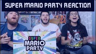 Super Mario Party REACTION at Nintendo Direct E3 2018
