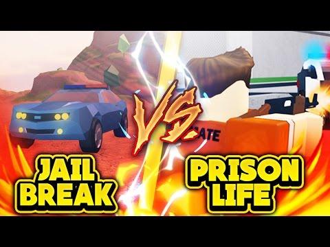 ROBLOX JAILBREAK VS. PRISON LIFE