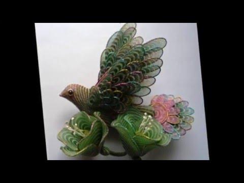 Поделка птицы Посмотрите каких  птиц  делают наши умельцы