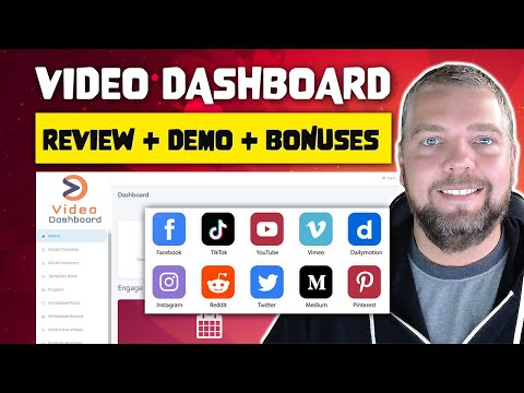 Video Dashboard Review and Demo [Paul Ponna]
