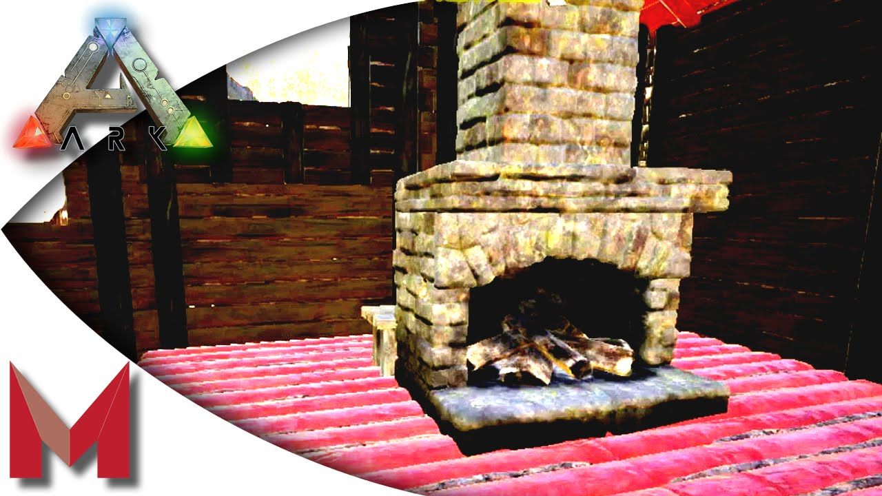 ARK: Survival Evolved - Fireplace, Cage and piped Industrial ...
