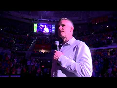 Billy Donovan Court Presentation