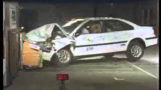 Voiture Crash Test Volvo S80 crash test I