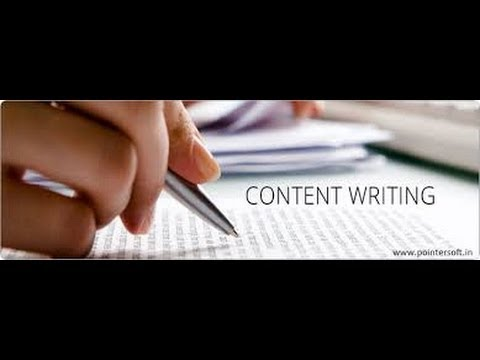 Introduction to Content Writing