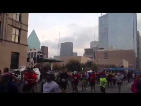 Sports: Dallas marathon