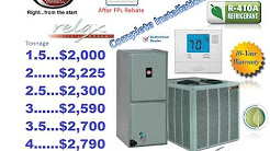 Air Conditioning repair and service in Pembroke Pines and Miramar Florida