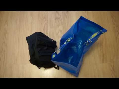 ecec5205df98d Ikea FRAKTA Shopping Bag Close-Up - YouTube