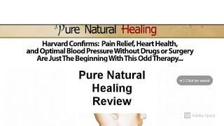 Pure Natural Healing Review | Is  Pure Natural Healing Good?