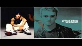 "Cry me a Superman - Eminem vs. Justin Timberlake Mash Up ""Doppel-Song"""