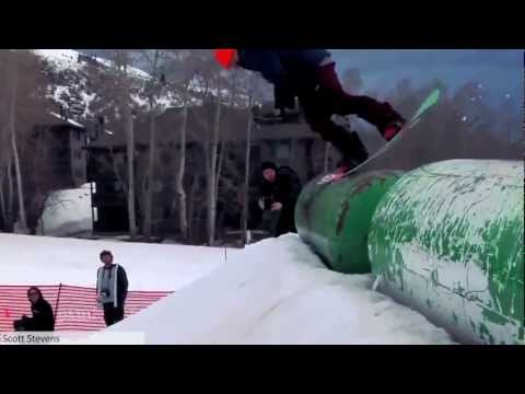 CRAZY SNOWBOARDING TRICKS!!