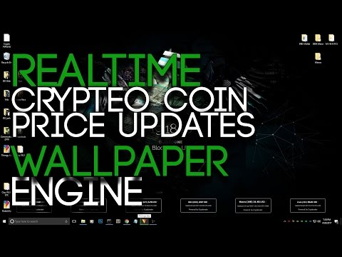 Realtime Coin Price Update Wallpaper! BuriedUI (Wallpaper Engine or Browser)