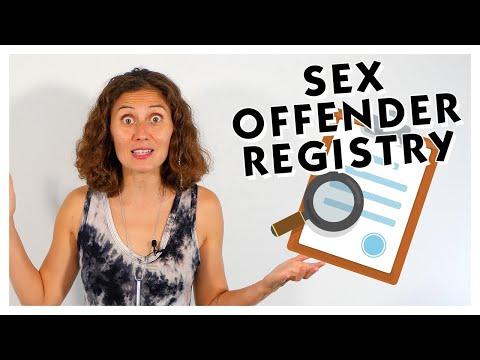 Sex Offender Registries TW: Abuse