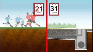 Искусственное покрытие для футбольных полей(Видео материалы