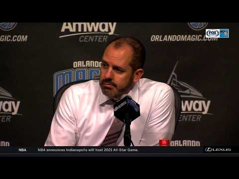 Frank Vogel -- Orlando Magic vs. Los Angeles Clippers 12/13/2017