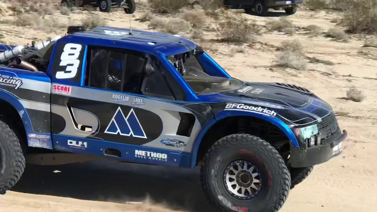 King of the Hammers.  Trophy trucks 2019