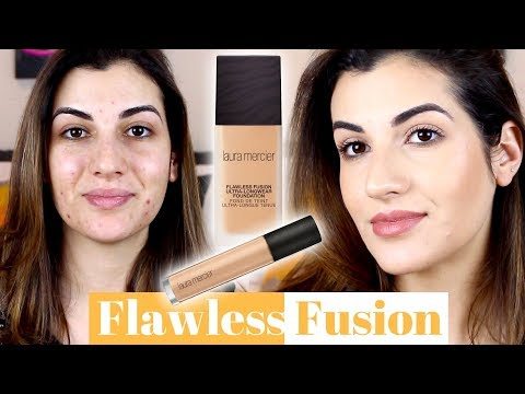RESENHA DA BASE E CORRETIVO FLAWLESS FUSION LAURA MERCIER | RECEBIDOS INFLUENSTER|  MAY DANCINI