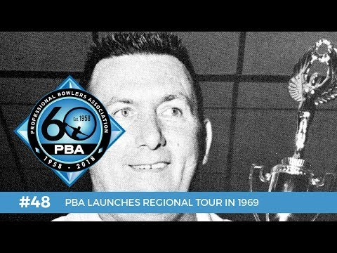 PBA 60th Anniversary Most Memorable Moments #48 - PBA Regional Tour Launches in 1969