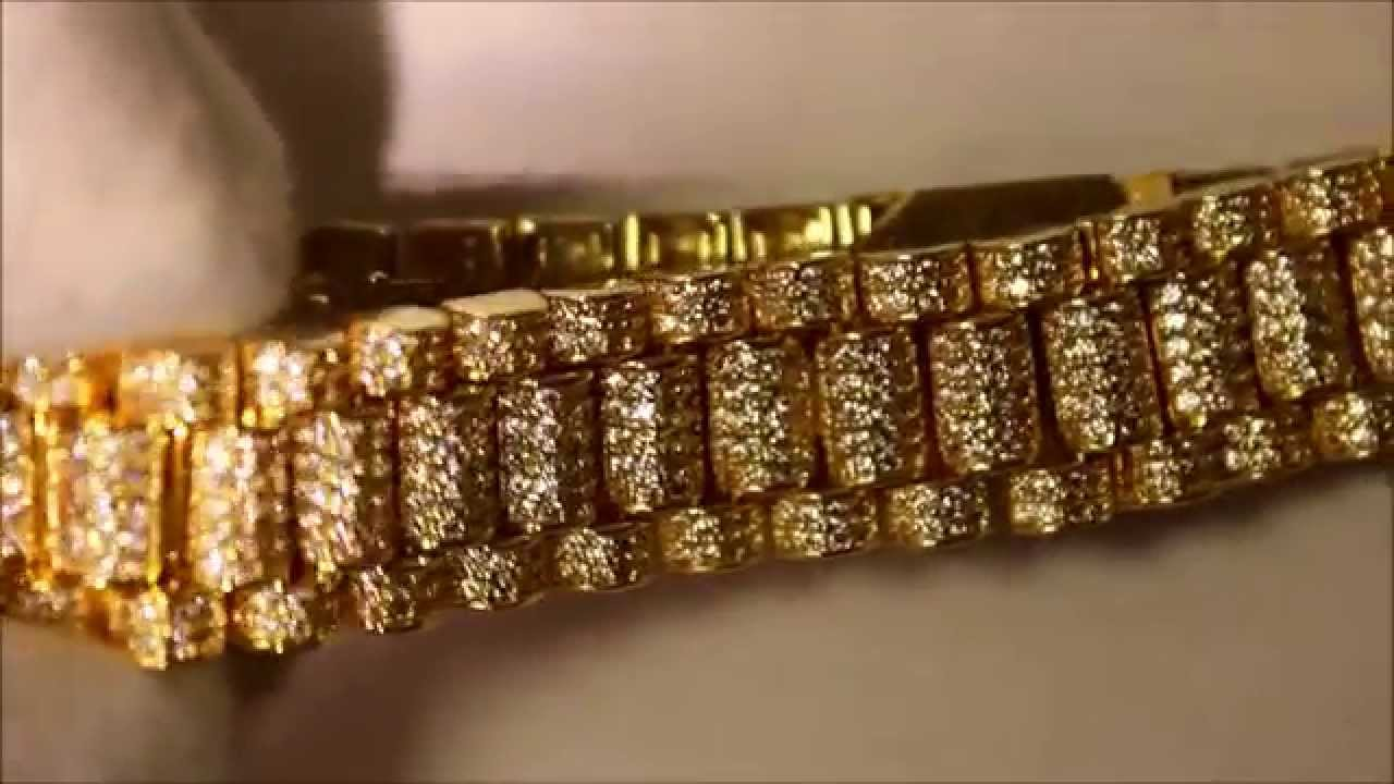 Diamond Rolex Bracelet Youtube