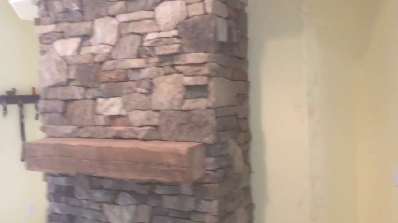 drystack natural stone fireplace fort myers florida youtube