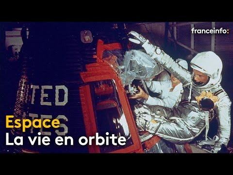 De John Glenn à Thomas Pesquet, comment la vie en orbite a évolué - franceinfo: