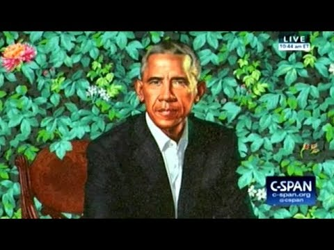 Michelle And Barack Obama Unveil Their Portraits At The National Portrait Gallery