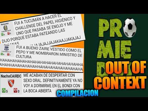 PROMIEDOS OUT OF CONTEXT #1 | Lo mas chistoso de Promiedos compilacion