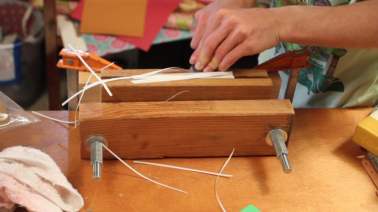 Using a handmade edge plow on a book youtube using a handmade edge plow on a book solutioingenieria Choice Image