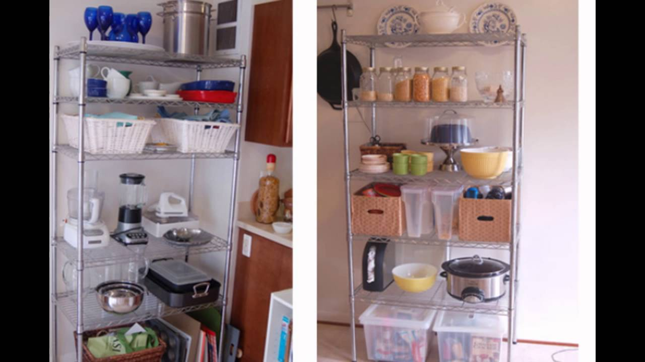 Kitchen Wire Rack Glossy Cabinets Shelving Youtube