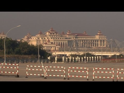 Myanmar's remote capital opens up to the world