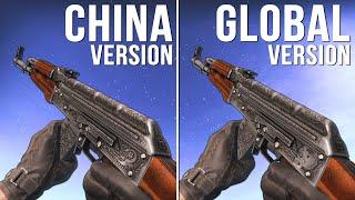 CS:GO - China Version vs Global Version Weapon Skins (Part 03) [Comparison]