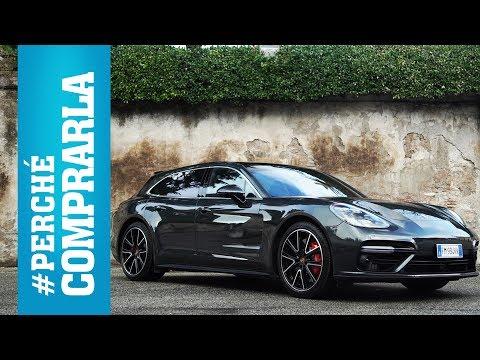 Porsche Panamera Sport Turismo (Turbo)   Perché Comprarla... E Perché No