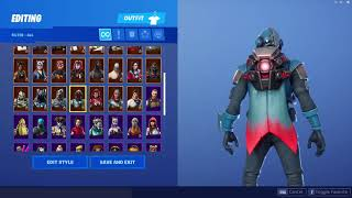 Best Skin That Goes With (Red) Retribution Back Bling-Fortnite