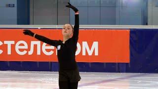 Софья Самоделкина Короткая программа Девушки Контрольные прокаты по фигурному катанию 2020