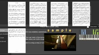 採譜 红尘客栈 Original Full Version Music Sheet Hong Chen Ke Zhan Jay Chou 周杰伦 紅塵客棧 Piano