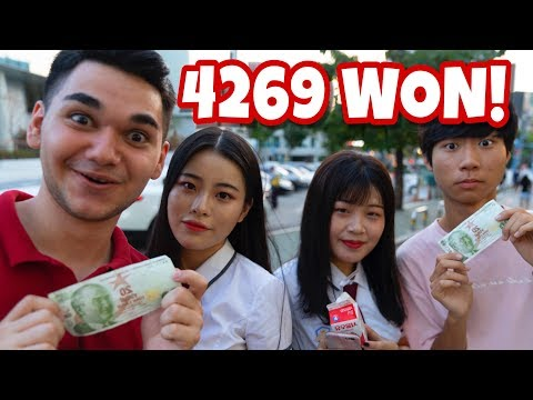 ONE DAY WITH 20 TURKISH LIRAS IN KOREA!
