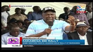 BBI in Kakamega: Maina Kamanda showers Raila with praises at Bukhungu