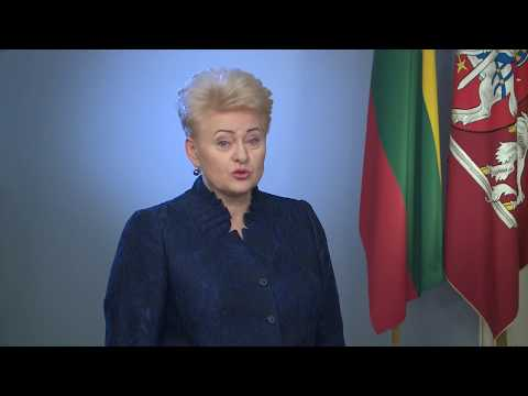 Lithuania, President Dalia Grybauskaitė