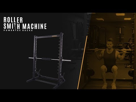 Powertec Roller Smith Machine – All Exercises