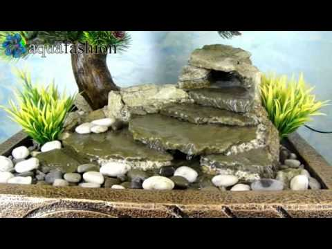 bonsai 2 1 zimmerbrunnen mit pflanzen youtube. Black Bedroom Furniture Sets. Home Design Ideas