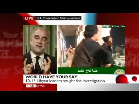 BBC World Have Your Say: ICC prosecutor Luis Moreno-Ocampo answers your questions